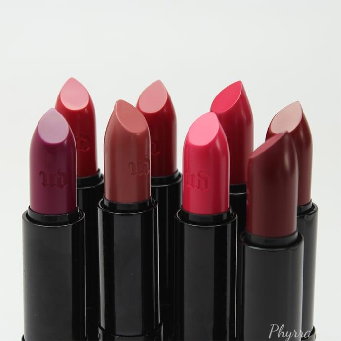 Urban Decay Gwen Stefani Lipstick Collection