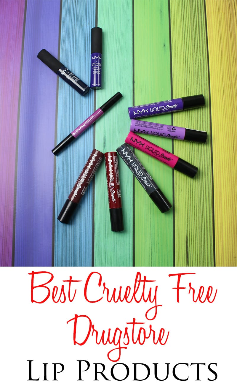 Best Cruelty Free Drugstore Lip Products