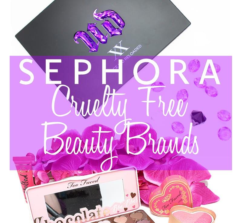 Cruelty Free Beauty Brands At Sephora
