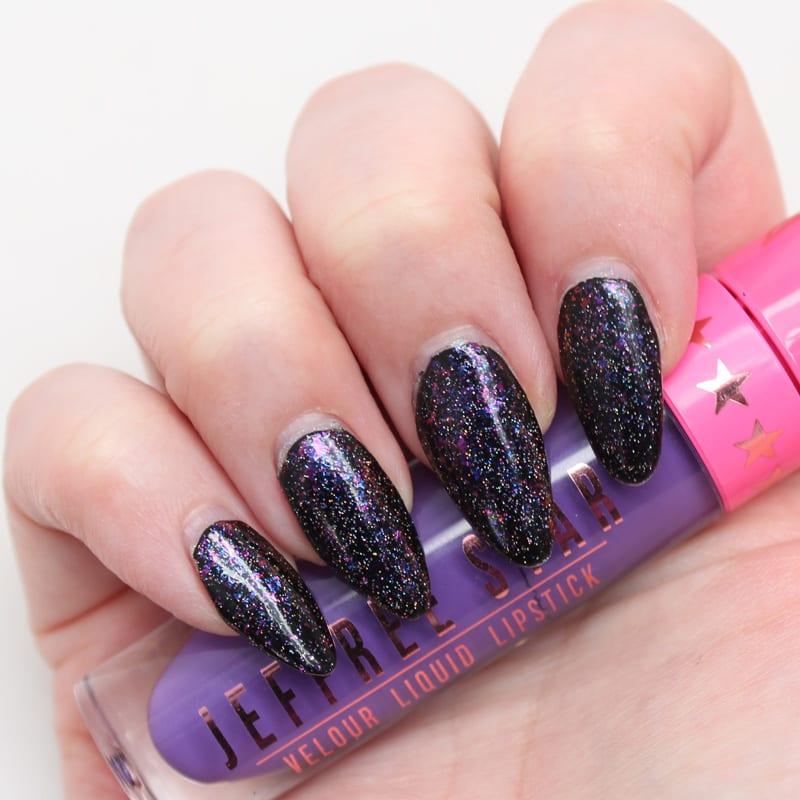 GlitterDaze Phosphorescent Nightshade (H) Nail Polish