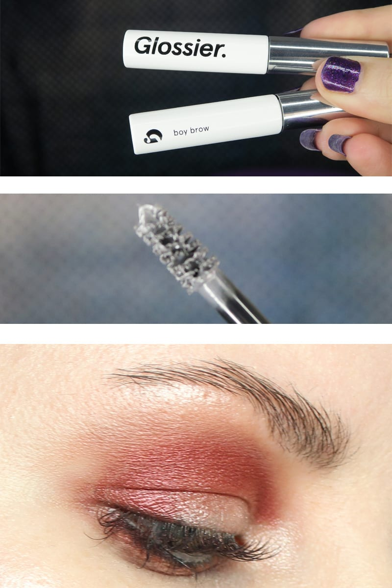 Glossier Boy Brow Review Swatches Video Looks