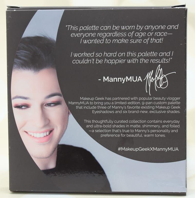 Makeup Geek MannyMUA Collaboration