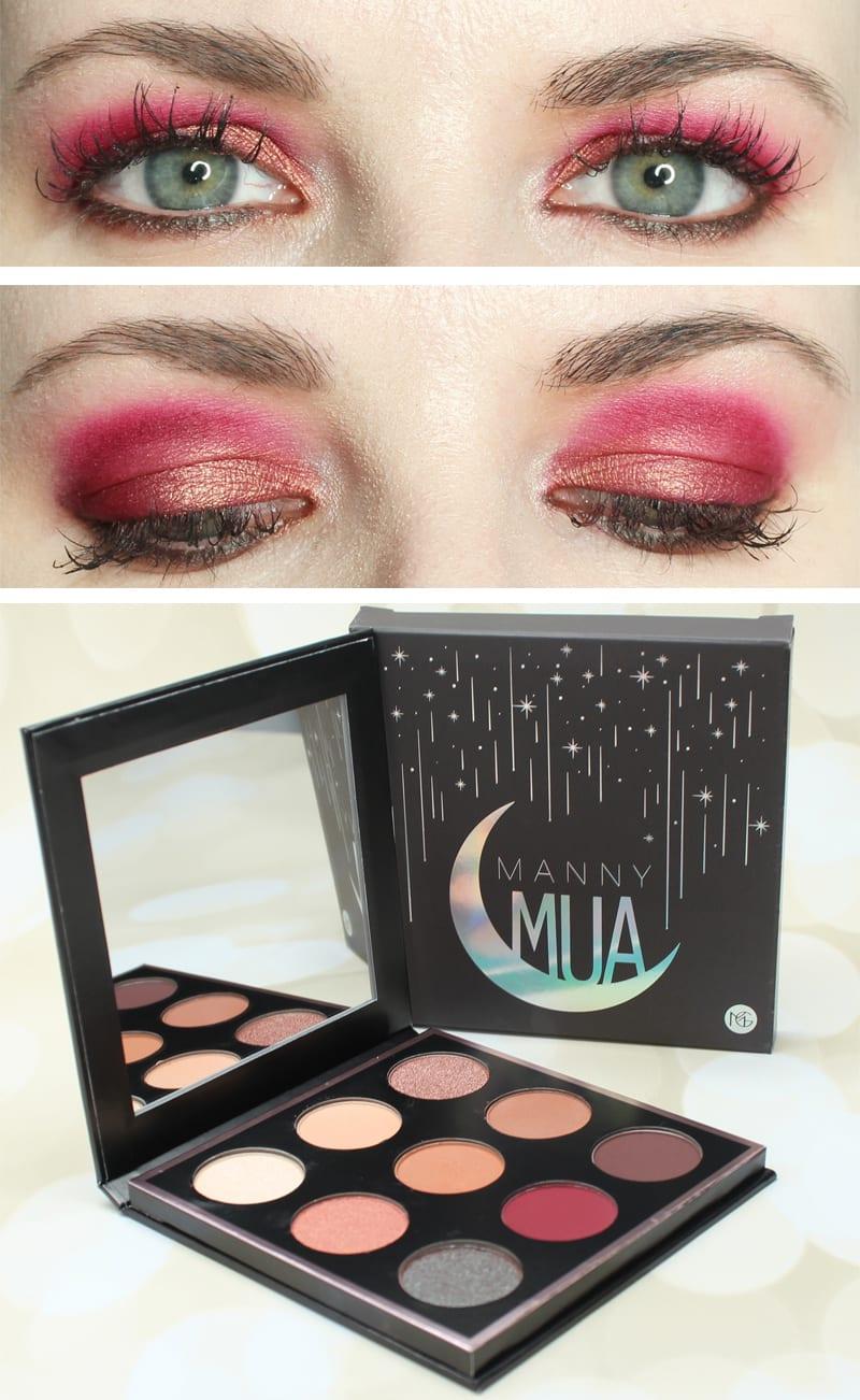 Makeup Geek MannyMua Palette Look