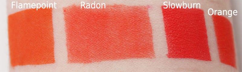 Melt Cosmetics Radon Dupes