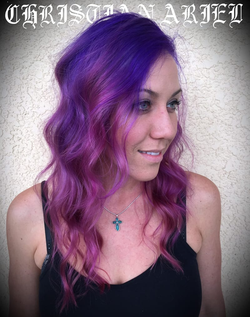 Pravana Pink Purple Ripple Hair