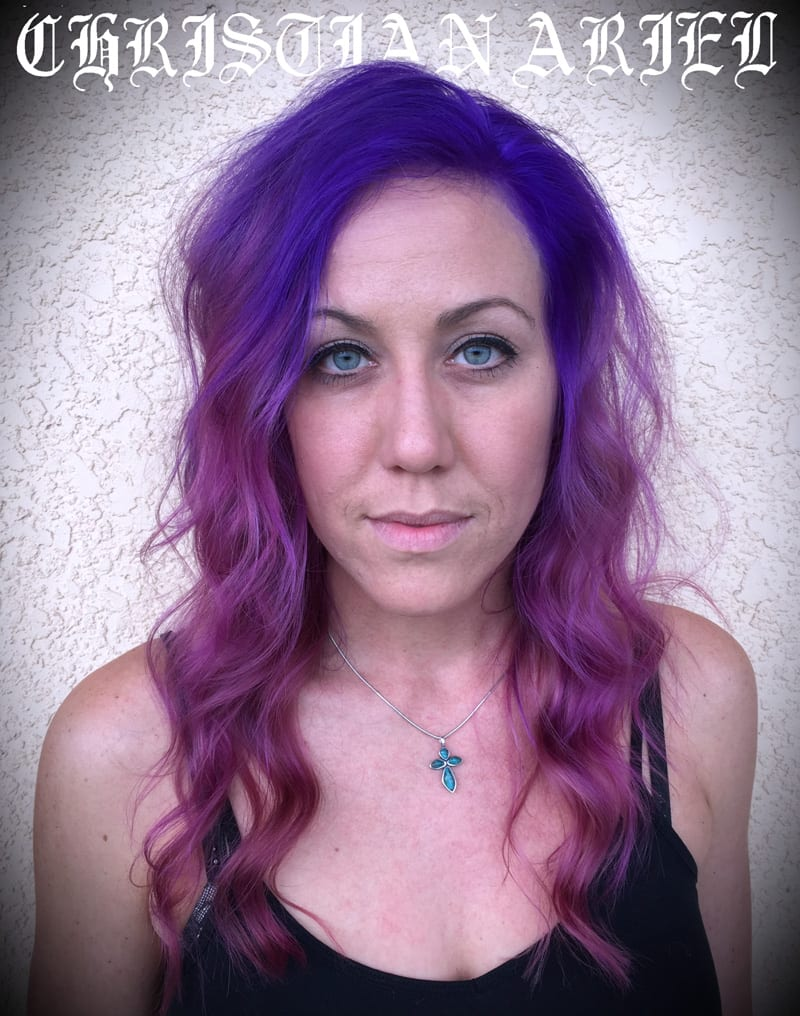 Pravana Pink Purple Ripple Hair