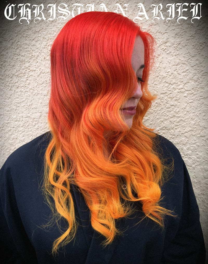 Pravana Vibrant Orange Fire Hair