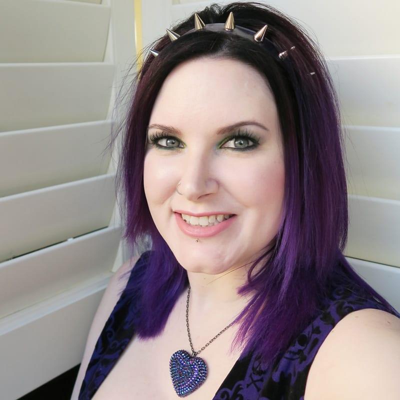 Wearing Tarte Tarteist Lip Paint in Namaste
