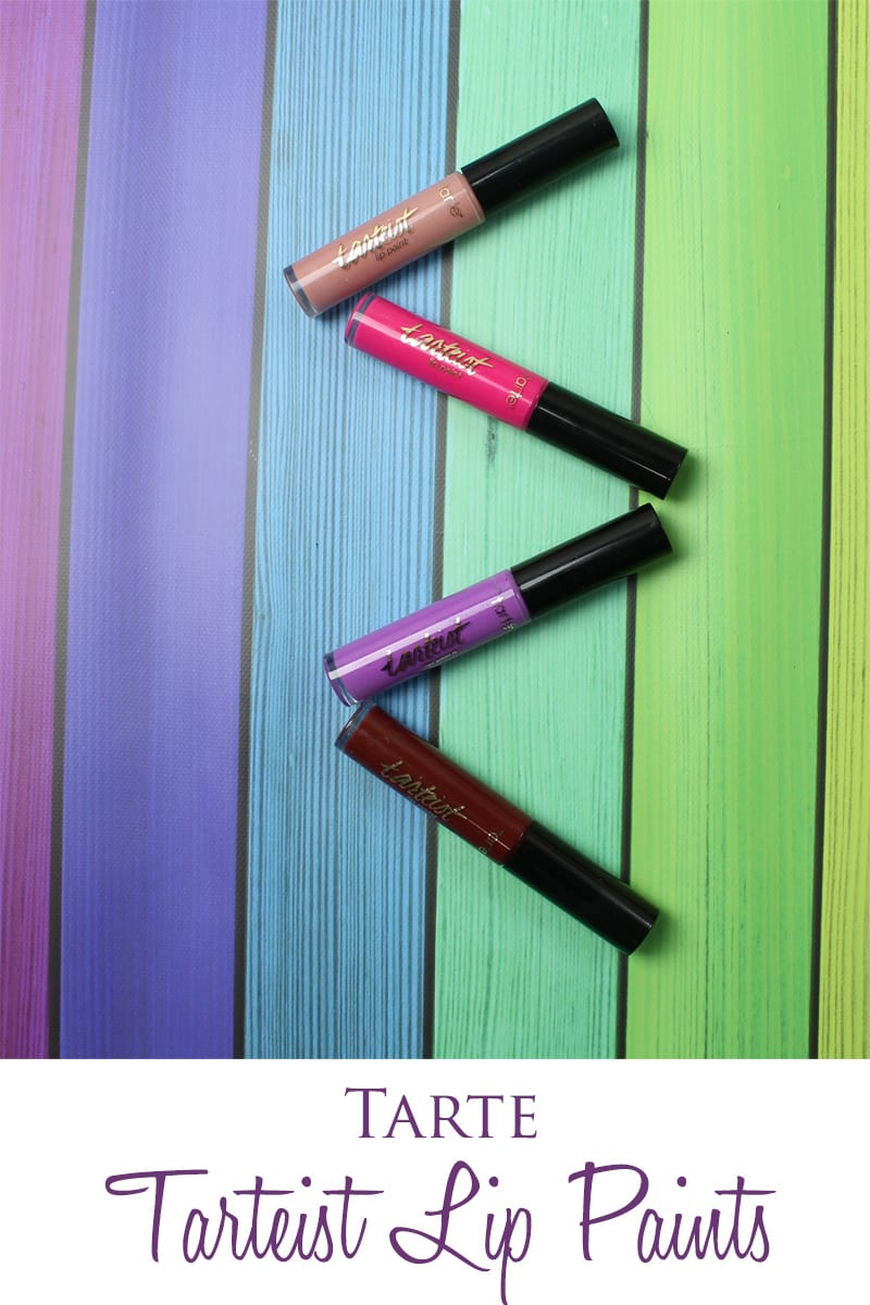 Tarte Tarteist Lip Paints Review, Swatches, Looks