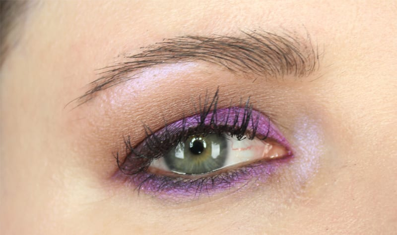 Too Faced Peanut Butter and Jelly Purple Eyeshadow Tutorial
