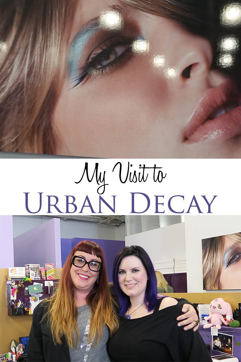My Visit to Urban Decay Headquarters