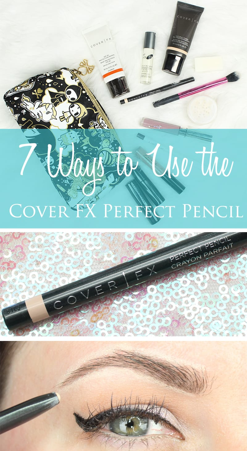 Cruelty-Free Makeup Tutorial 7 Ways to Use the Cover FX Perfect Pencil