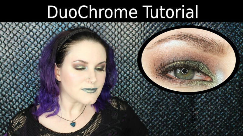 Makeup Geek Typhoon Duochrome Tutorial
