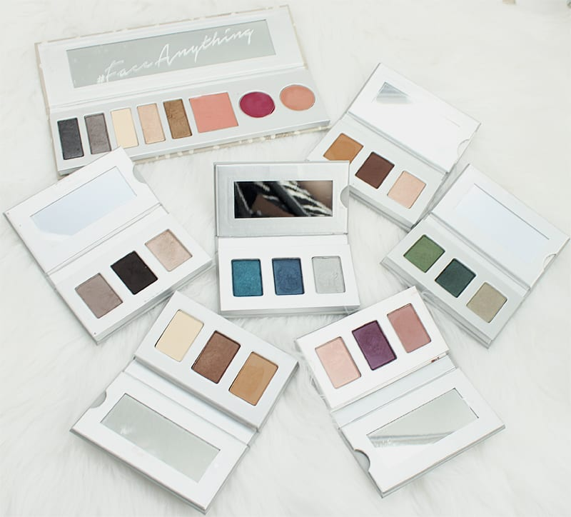Honest Beauty Eyeshadow Trios and Everything Makeup Palette Review Swatches and Looks