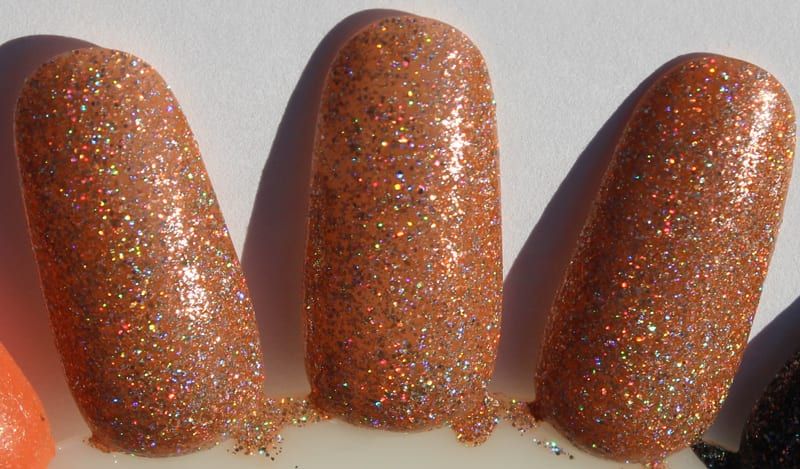 KBShimmer So Flamous swatch
