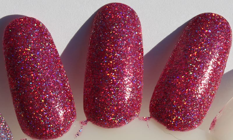 KBShimmer Ripe For The Pink-ing swatch