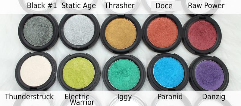 Kat Von D Metal Crush eyeshadows