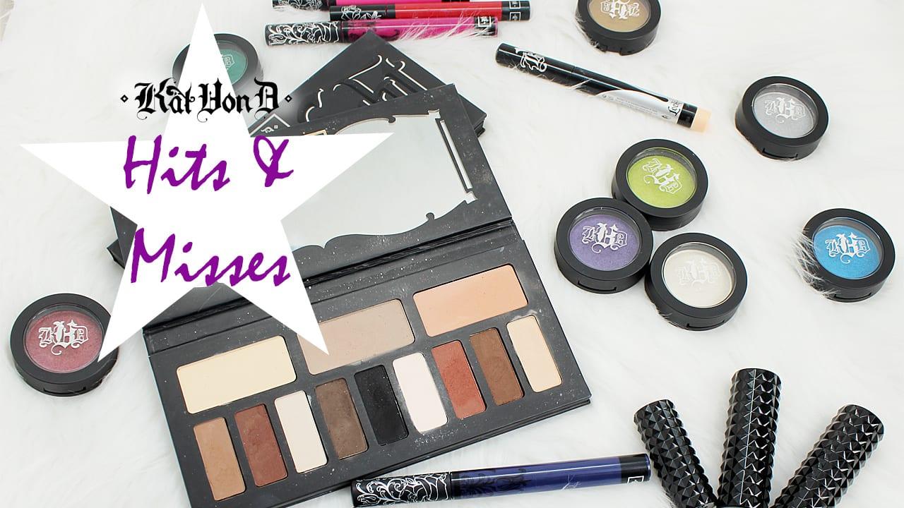 Kat Von D Beauty Hits and Misses