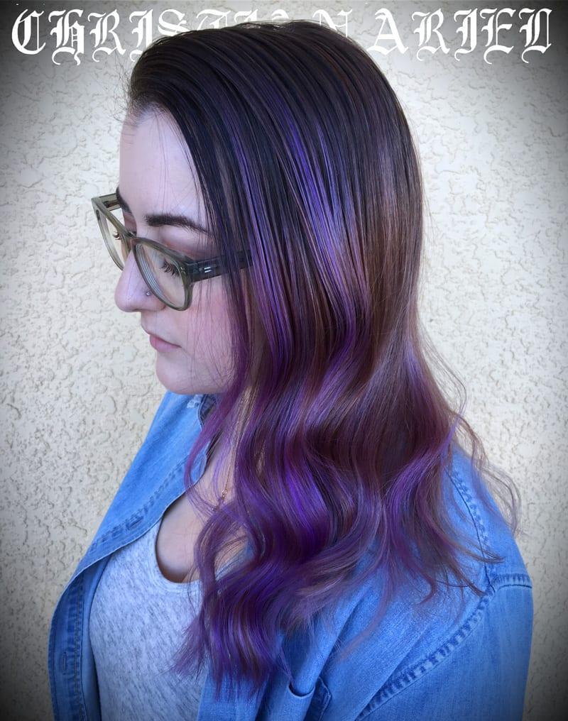 Pravana Violet Hair