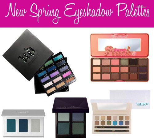 Top 10 New Spring Eyeshadow Palettes