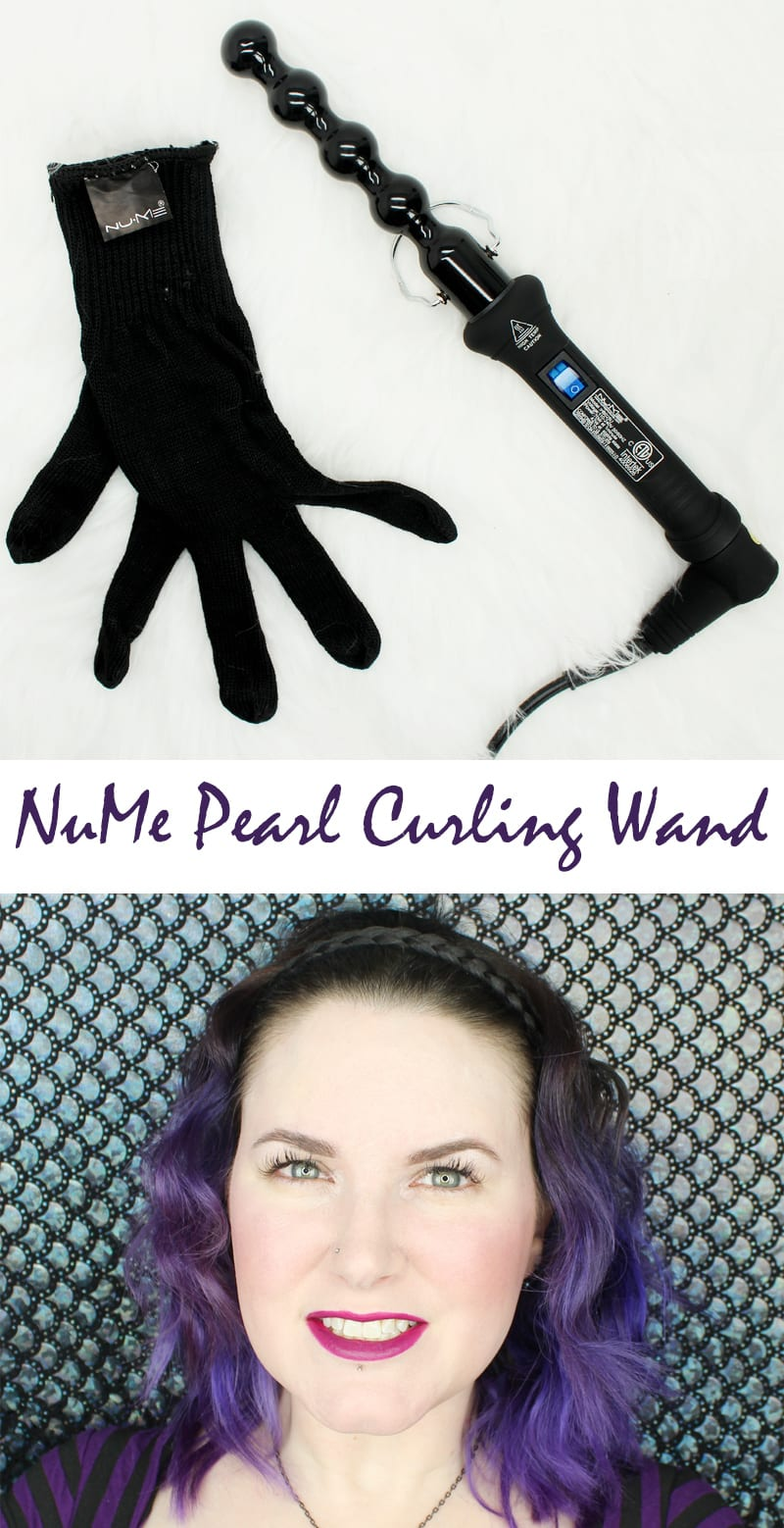 NuMe Pearl Curling Wand Review