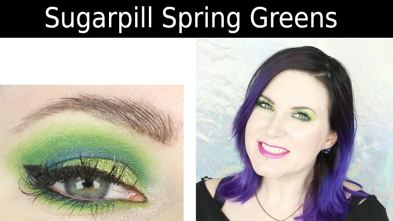 Sugarpill Spring Green Tutorial