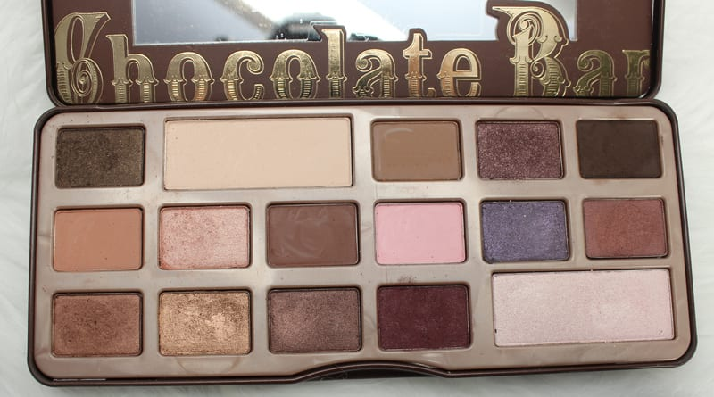 Too Faced Chocolate Palettes Comparisons - Original Chocolate Bar Palette