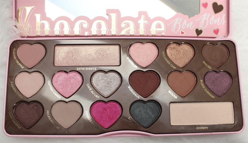 Too Faced Chocolate Palettes Comparisons - Chocolate Bon Bons Palette