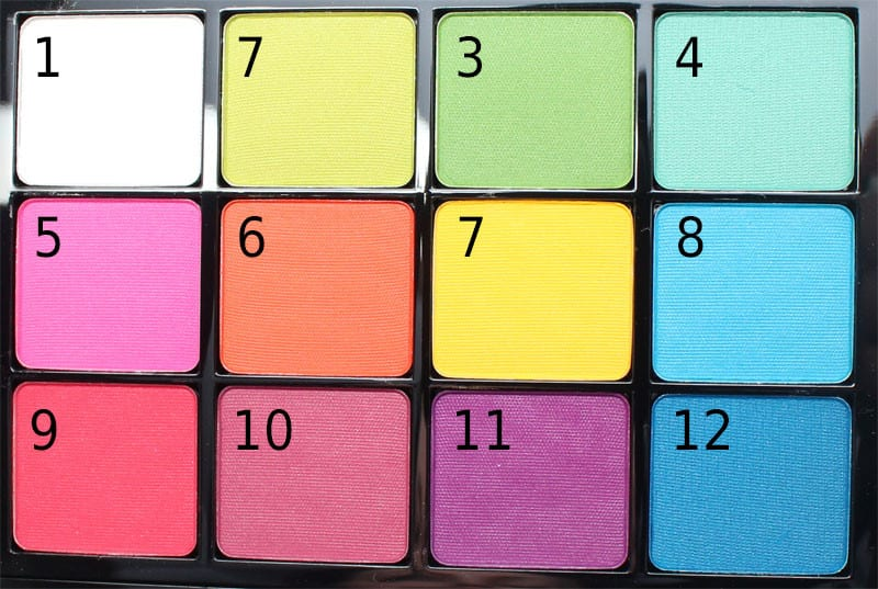 Viseart Bright Editorial Palette Review and swatches