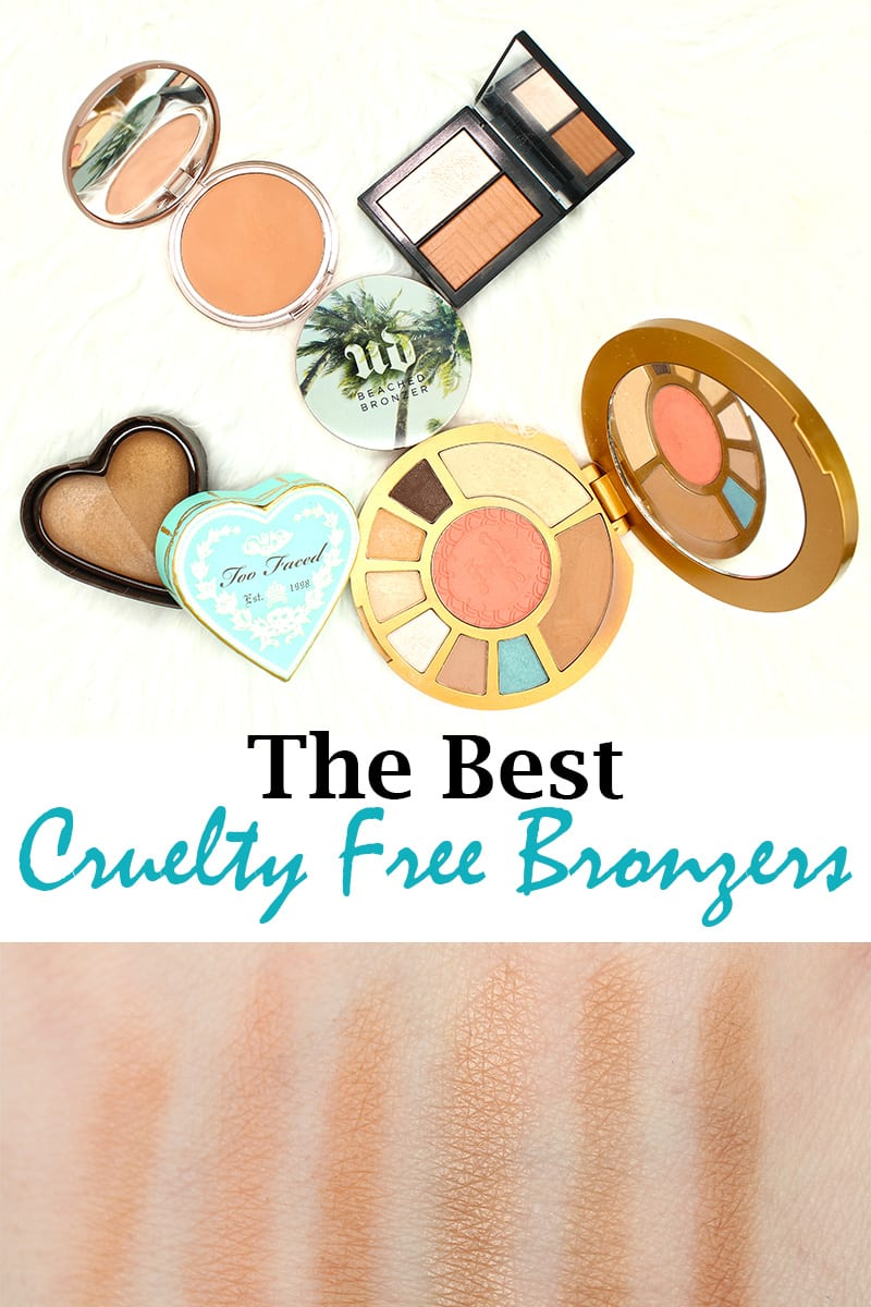 Top 10 Cruelty Free Bronzers, great for pale skin