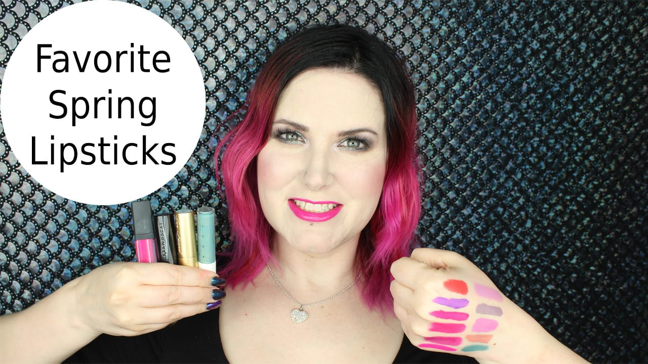 Favorite Cruelty Free Spring Lipsticks