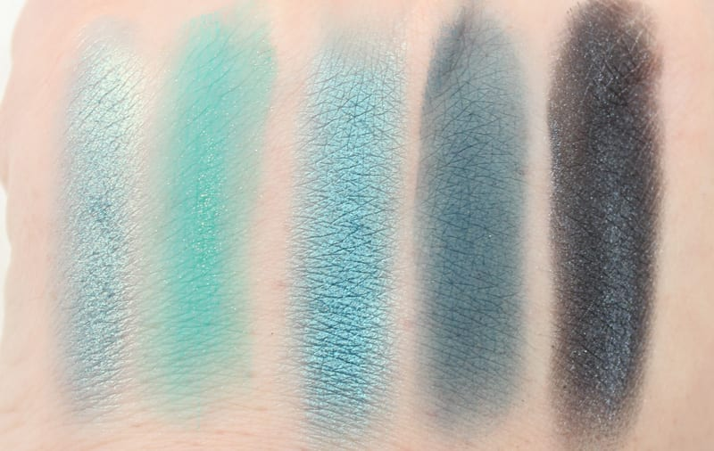 Urban Decay Shattered - Heads Will Roll - Haight - Bandersnatch - Time Swatches