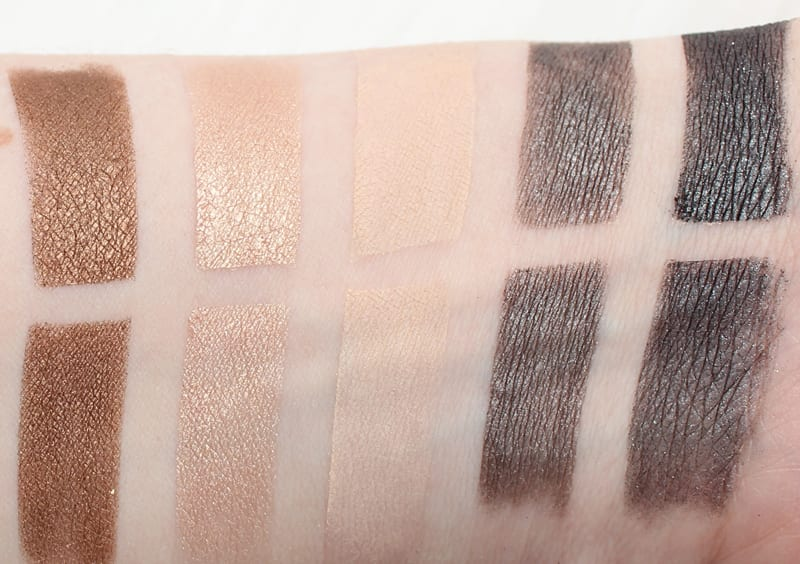 Honest Beauty Everything Makeup Palette Eyeshadow Swatches