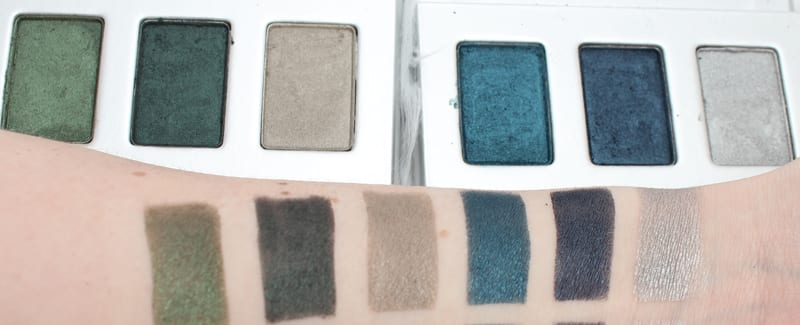 Honest Beauty Forest Green and Ocean Blue Trios