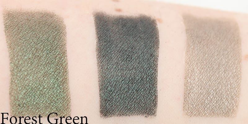 Honest Beauty Forest Green Swatches, Review, Look