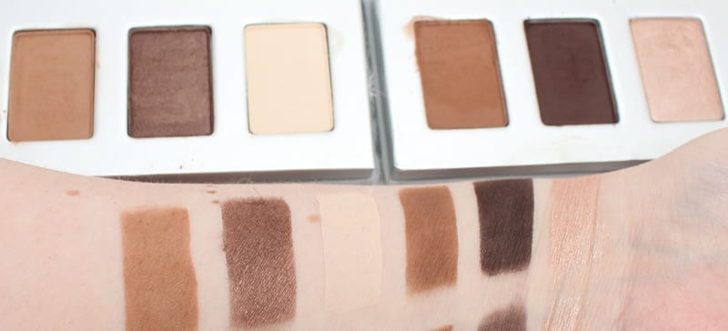 Honest Beauty Sable Brown and Soft Sand Trios