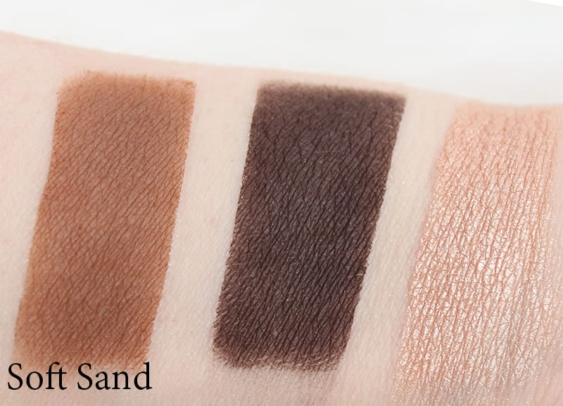 Honest Beauty Soft Sand Trio Swatches, Review, Look