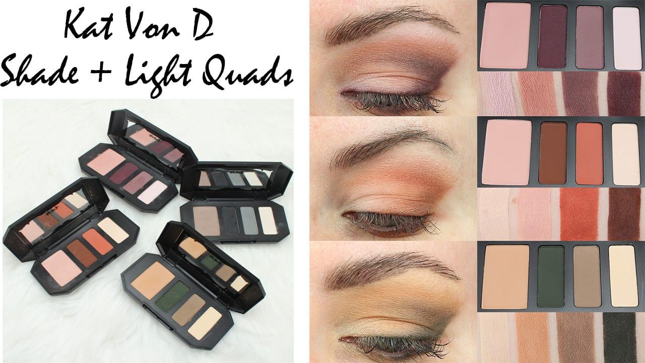 Kat Von D Shade Light Eye Contour Quads Looks On
