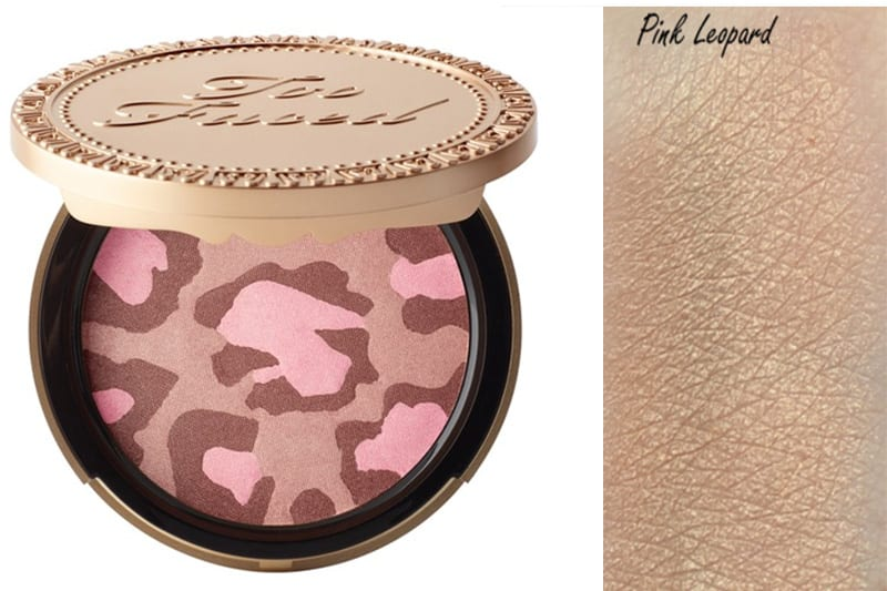 Too Faced Pink Leopard Bronzer Swatch