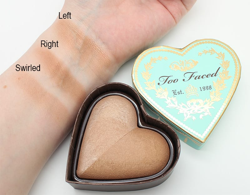 Too Faced Sweet Tea Swatches