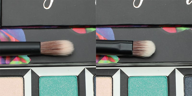 Urban Decay Alice Through the Looking Glass Eyeshadow Palette Dual Ended Brush