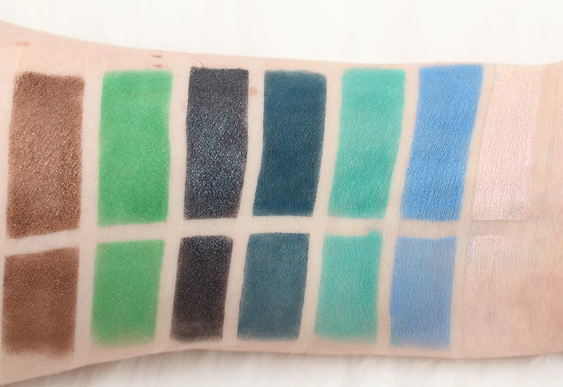 Urban Decay Alice Through the Looking Glass Eyeshadow Palette Swatches and Review