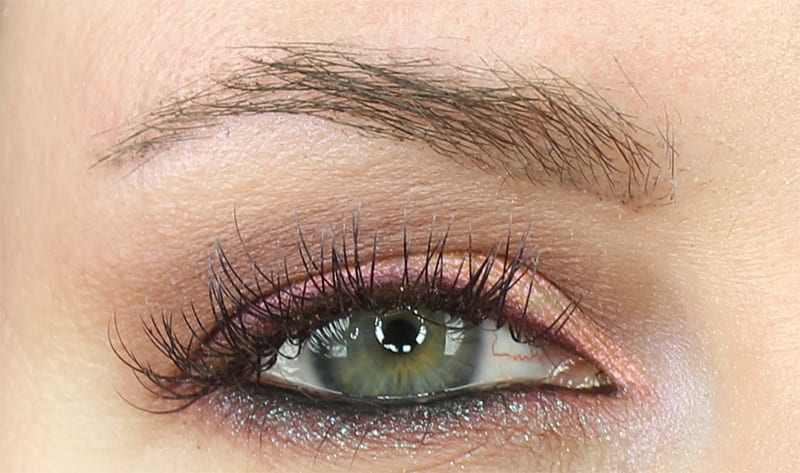 Wearing Urban Decay Fireball, Laced, Punk, and Solstice Eyeshadows