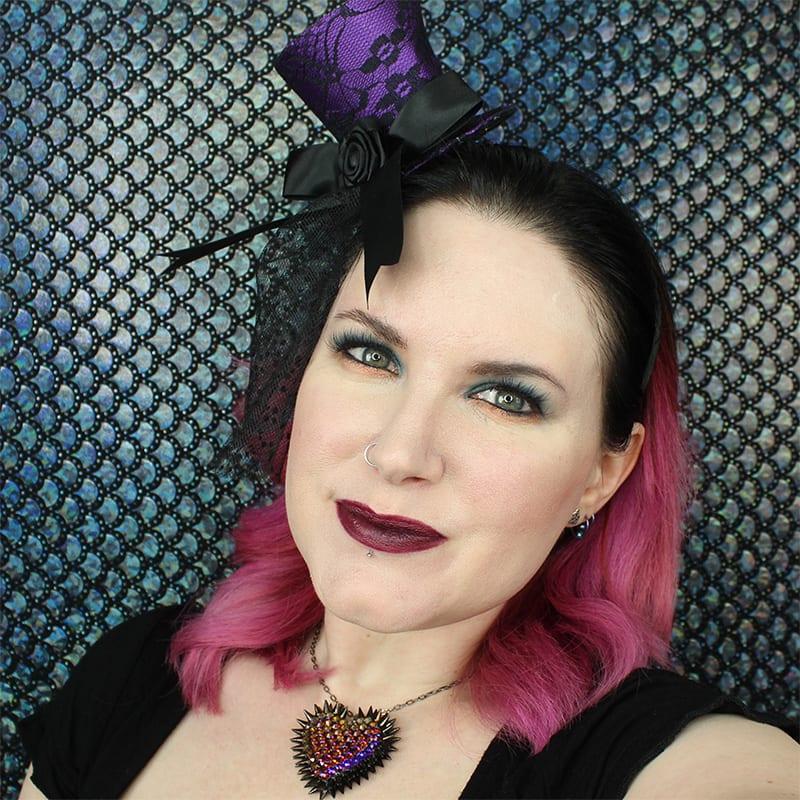 Urban Decay Mirana Lipstick on Pale Skin