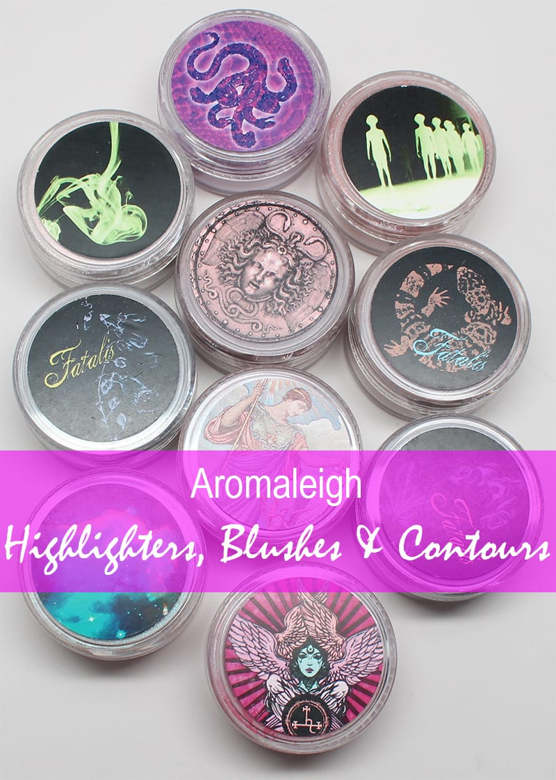 Aromaleigh Highlighters, Blushes and Contours