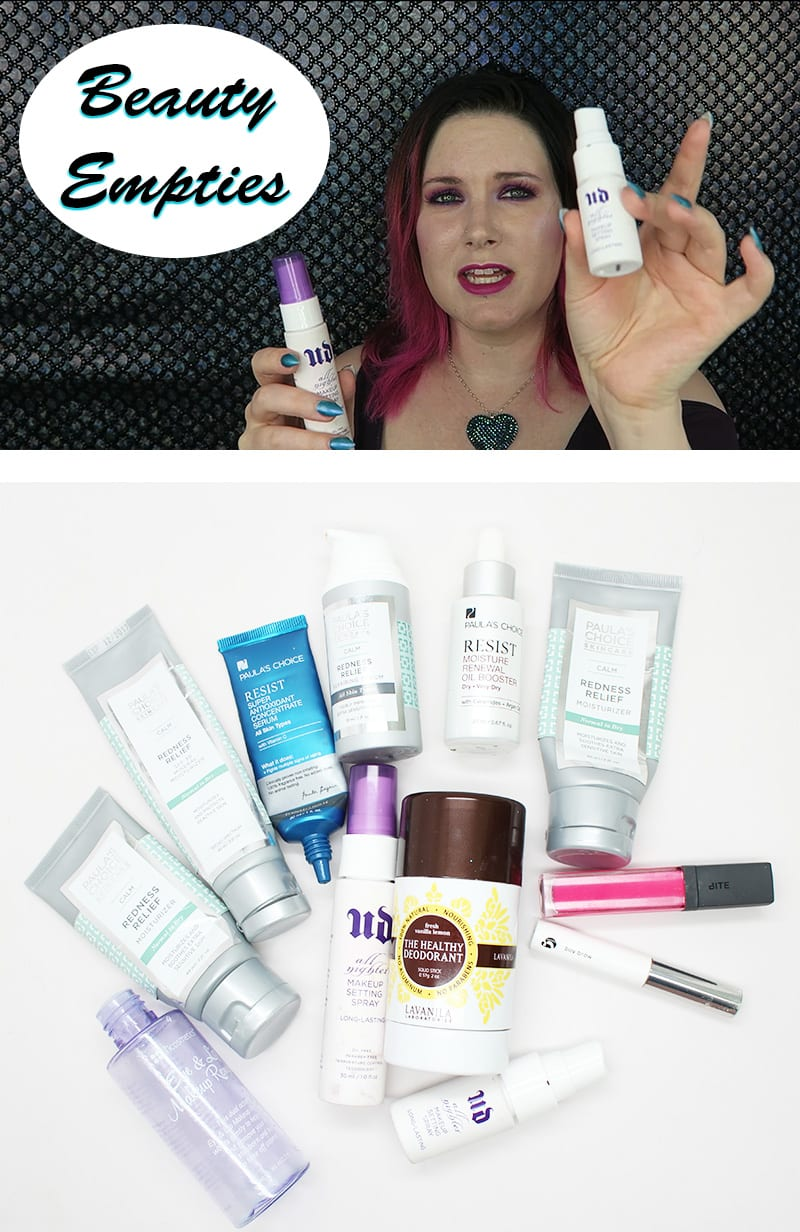 Beauty Empties Products I've Used Up