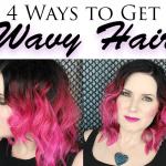 4 Ways to Get Wavy Hair