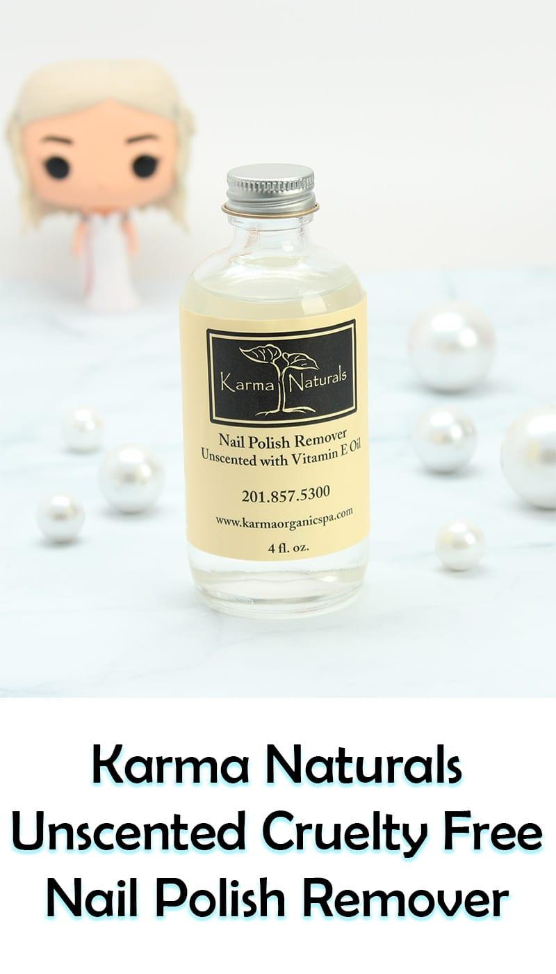 Karma Naturals Unscented Nail Polish Remover Review