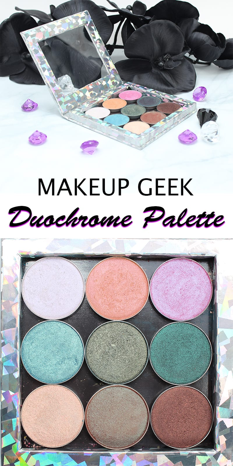 Makeup Geek Duochrome Palette