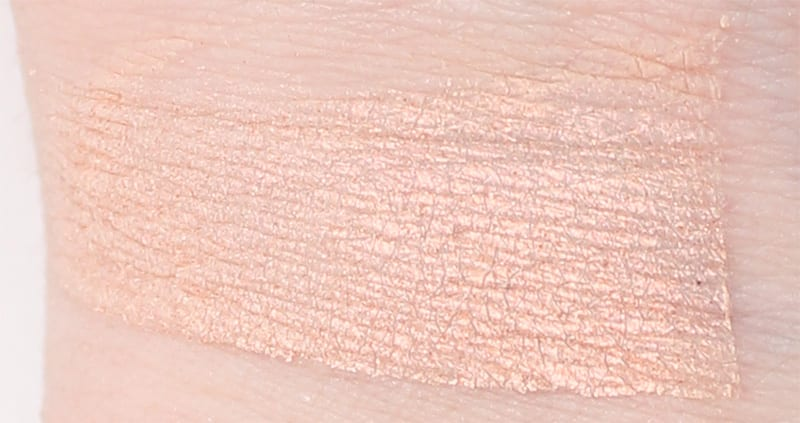 Makeup Geek I'm Peachless swatch
